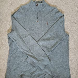 Polo Ralph Lauren 1/4 zip-up LIKE NEW w/o Tags